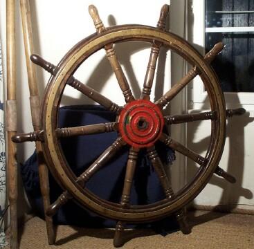 Equipement du navires polies hublots barre - Housse de barre a roue ...