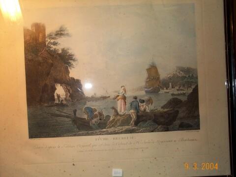 Vernet joseph vente de gravures du peintre joseph vernet - Le port de bordeaux par joseph vernet ...